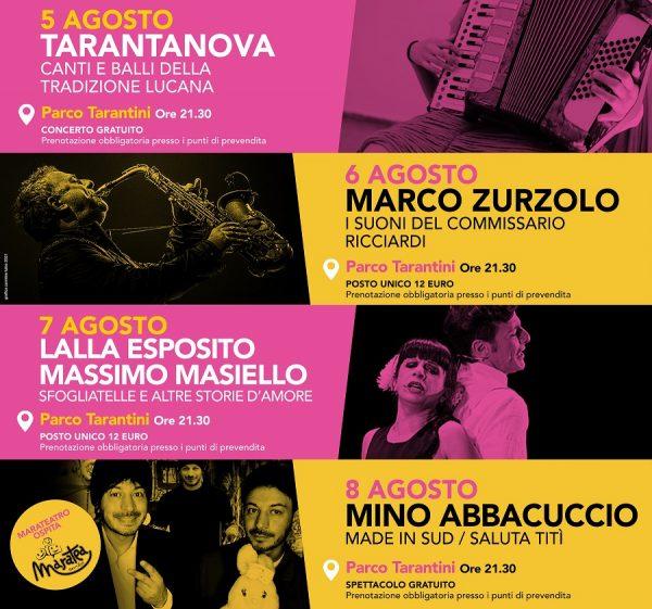 Parte l'attesa ottava edizione del Marateatro Festival