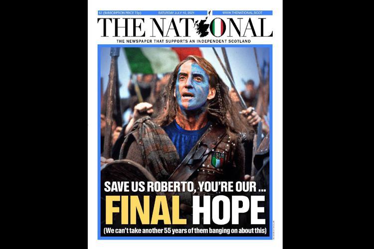 Euro 2020, per gli scozzesi Mancini diventa Braveheart