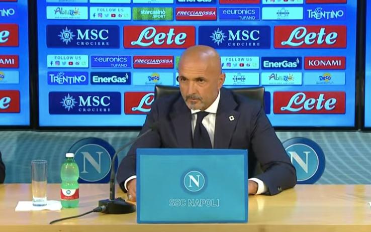 Calcio Napoli, conferenza presentazione Luciano Spalletti