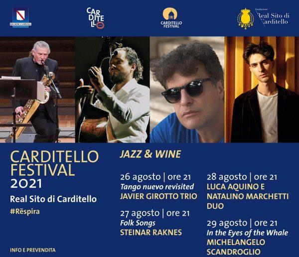 Al Carditello Festival arriva il Jazz con l'omaggio ad Astor Piazzola