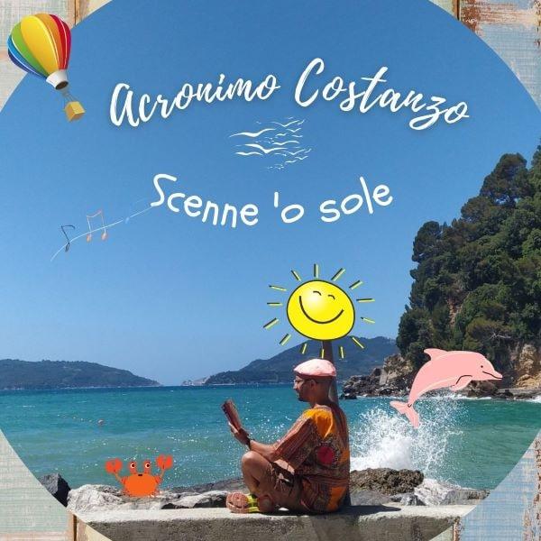 """""""Scenne 'o sole"""": Acronimo Costanzo... Orazio napoletano nel Golfo dei Poeti (VIDEO)"""
