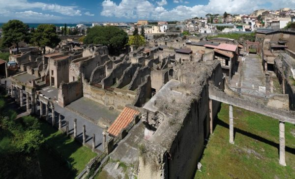 Boom di visite al Parco Archeologico di Ercolano
