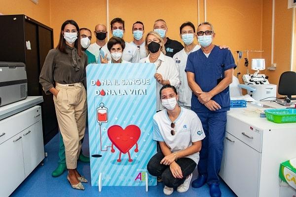 ISL: gli Aqua Centurions in favore delle donazioni di sangue al Santobono Pausilipon