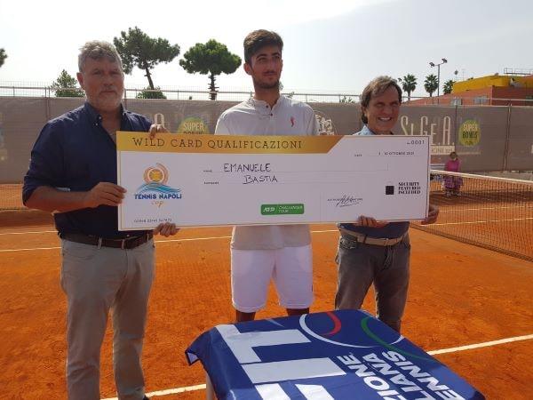 Tennis Napoli Cup: al napoletano Emanuele Bastia la prima wild card del torneo