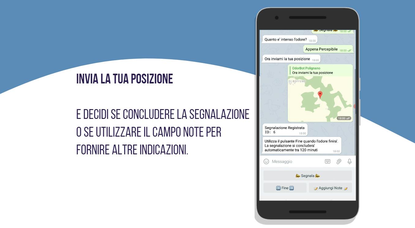 Arpac, su Telegram il profilo per segnalare cattivi odori