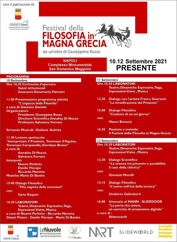 Napoli, ecco il Festival della Filosofia in Magna Grecia: ospiti Galimberti, Bonazzi e Gaspari