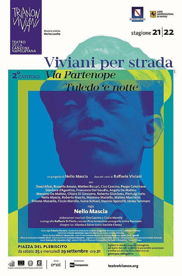 """Teatro Trianon Viviani: secondo capitolo di """"Viviani per strada"""" in piazza Plebiscito"""