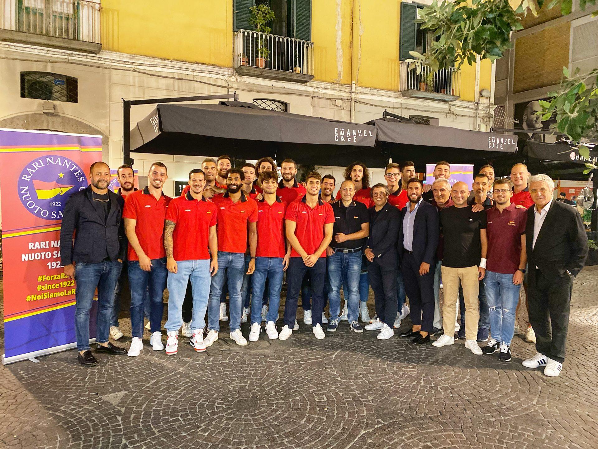 La Rari Nantes Nuoto Salerno brinda al nuovo campionato di Serie A1 maschile