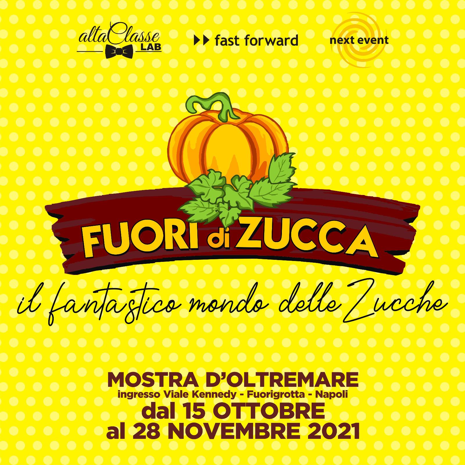 Alla Mostra d'Oltremare dal 15 ottobre FUORI DI ZUCCA Il fantastico mondo delle zucche