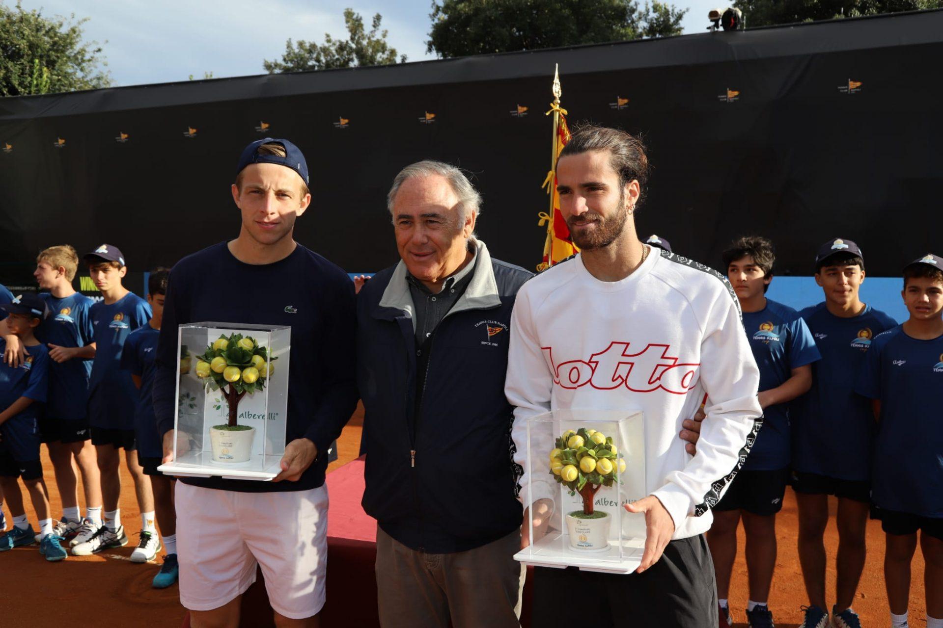 Tennis Napoli Cup by Arnone, Tallon Griekspoor batte l'azzurro Pellegrino