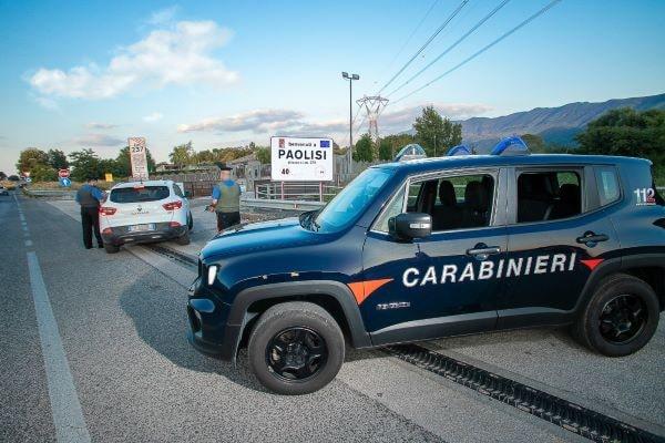 Paolisi: Carabinieri arrestano un 24enne per rapina impropria in supermercato