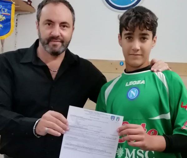 Montecalcio: il giovane talento David Spinelli vola al Calcio Napoli