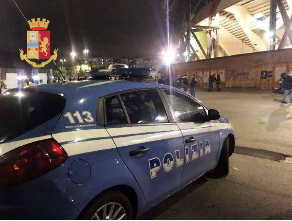 Questura di Napoli: 14 Daspo per scavalcamento durante due partite del Calcio Napoli