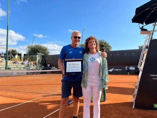 "Tennis: il ct Umberto Rianna vince il premio ""SET your mind"" (VIDEO)"